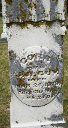 GUY, CORA - Madison County, Ohio | CORA GUY - Ohio Gravestone Photos