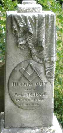GUY, HIRAM - Madison County, Ohio | HIRAM GUY - Ohio Gravestone Photos