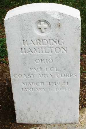 HAMILTON, HARDING - Madison County, Ohio | HARDING HAMILTON - Ohio Gravestone Photos