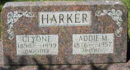 HARKER, ADDIE M. - Madison County, Ohio | ADDIE M. HARKER - Ohio Gravestone Photos