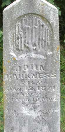HARKNESS, JOHN - Madison County, Ohio | JOHN HARKNESS - Ohio Gravestone Photos