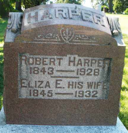 HARPER, ELIZABETH E. - Madison County, Ohio | ELIZABETH E. HARPER - Ohio Gravestone Photos