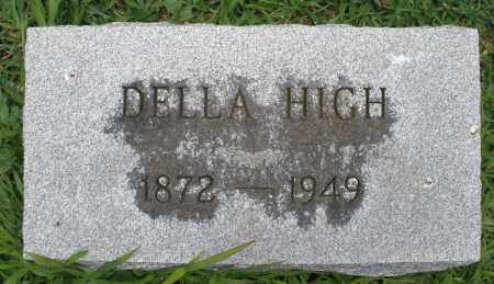 HIGH, DELLA - Madison County, Ohio | DELLA HIGH - Ohio Gravestone Photos