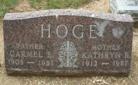 HOGE, KATHRYN R. - Madison County, Ohio | KATHRYN R. HOGE - Ohio Gravestone Photos