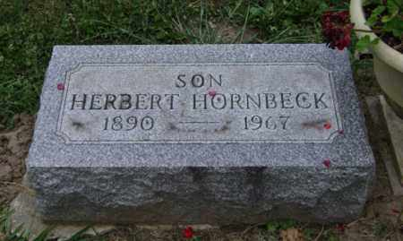 HORNBECK, HERBERT - Madison County, Ohio | HERBERT HORNBECK - Ohio Gravestone Photos
