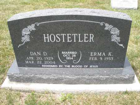 HOSTETLER, DAN D. - Madison County, Ohio | DAN D. HOSTETLER - Ohio Gravestone Photos