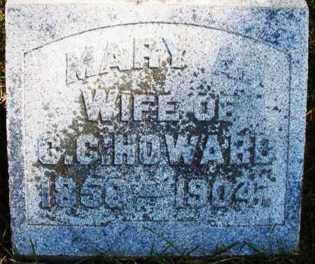 HOWARD, MARY A. - Madison County, Ohio | MARY A. HOWARD - Ohio Gravestone Photos