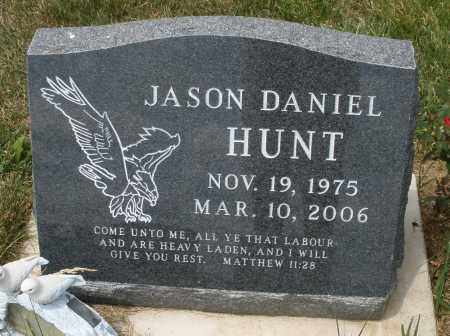 HUNT, JASON DANIEL - Madison County, Ohio | JASON DANIEL HUNT - Ohio Gravestone Photos