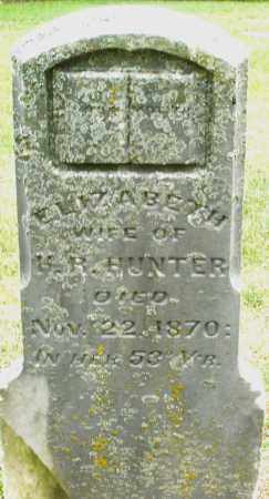 HUNTER, ELIZABETH - Madison County, Ohio | ELIZABETH HUNTER - Ohio Gravestone Photos