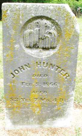 HUNTER, JOHN - Madison County, Ohio | JOHN HUNTER - Ohio Gravestone Photos