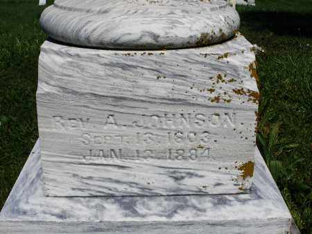 JOHNSON, A. REVERAND - Madison County, Ohio | A. REVERAND JOHNSON - Ohio Gravestone Photos