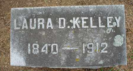 KELLEY, LAURA D. - Madison County, Ohio | LAURA D. KELLEY - Ohio Gravestone Photos