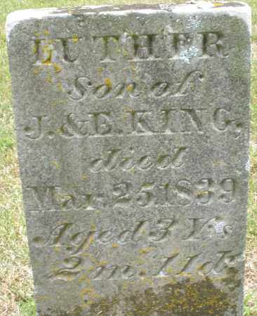 KING, LUTHER - Madison County, Ohio | LUTHER KING - Ohio Gravestone Photos