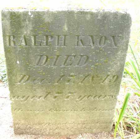 KNOX, RALPH - Madison County, Ohio | RALPH KNOX - Ohio Gravestone Photos