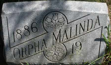 LAMBERT, ORPHA MALINDA - Madison County, Ohio | ORPHA MALINDA LAMBERT - Ohio Gravestone Photos