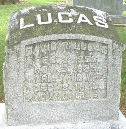 LUCAS, DAVID R. - Madison County, Ohio | DAVID R. LUCAS - Ohio Gravestone Photos
