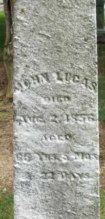 LUCAS, JOHN - Madison County, Ohio | JOHN LUCAS - Ohio Gravestone Photos