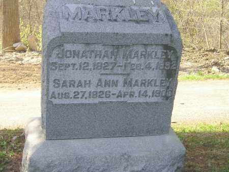 KINGHAM MARKLEY, SARAH ANN - Madison County, Ohio | SARAH ANN KINGHAM MARKLEY - Ohio Gravestone Photos