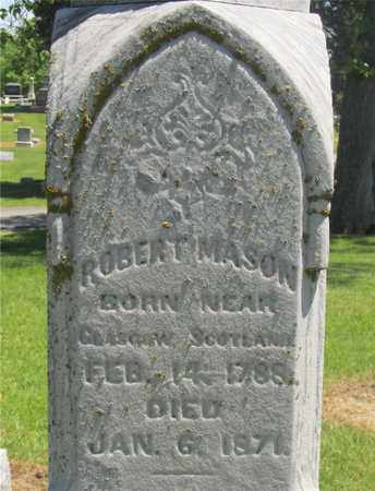 MASON, ROBERT - Madison County, Ohio | ROBERT MASON - Ohio Gravestone Photos