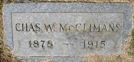 MCCLIMANS, CHARLES W. - Madison County, Ohio | CHARLES W. MCCLIMANS - Ohio Gravestone Photos