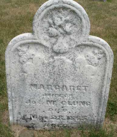 MCCLUNG, MARGARET - Madison County, Ohio | MARGARET MCCLUNG - Ohio Gravestone Photos