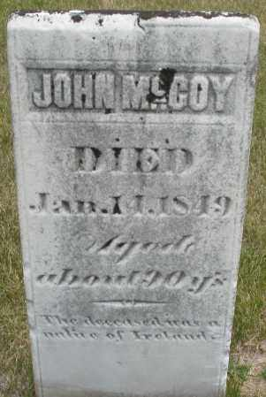 MCCOY, JOHN - Madison County, Ohio | JOHN MCCOY - Ohio Gravestone Photos