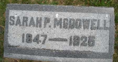 MCDOWELL, SARAH P. - Madison County, Ohio | SARAH P. MCDOWELL - Ohio Gravestone Photos