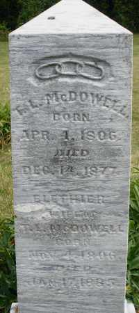 MCDOWELL, ELETHIER - Madison County, Ohio | ELETHIER MCDOWELL - Ohio Gravestone Photos