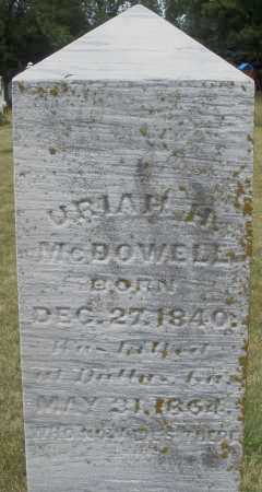 MCDOWELL, URIAH H. - Madison County, Ohio | URIAH H. MCDOWELL - Ohio Gravestone Photos