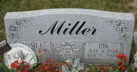 MILLER, IDA - Madison County, Ohio | IDA MILLER - Ohio Gravestone Photos