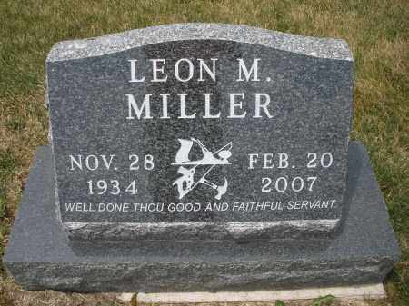 MILLER, LEON M. - Madison County, Ohio | LEON M. MILLER - Ohio Gravestone Photos