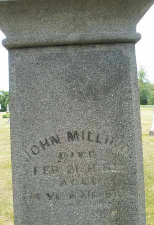 MILLIKIN, JOHN - Madison County, Ohio | JOHN MILLIKIN - Ohio Gravestone Photos