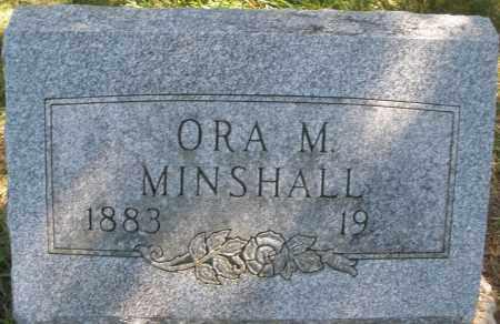 MINSHALL, ORA M. - Madison County, Ohio | ORA M. MINSHALL - Ohio Gravestone Photos
