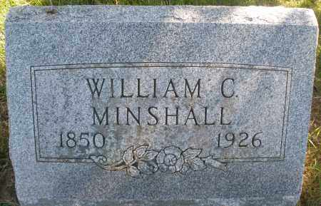 MINSHALL, WILLIAM C. - Madison County, Ohio | WILLIAM C. MINSHALL - Ohio Gravestone Photos