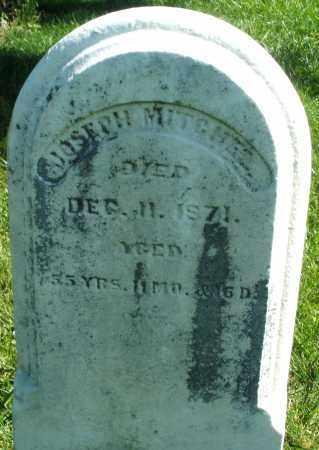 MITCHEL, JOSEPH - Madison County, Ohio | JOSEPH MITCHEL - Ohio Gravestone Photos