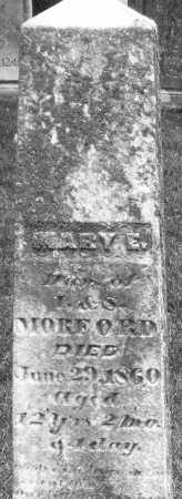 MORFORD, MARY E. - Madison County, Ohio | MARY E. MORFORD - Ohio Gravestone Photos