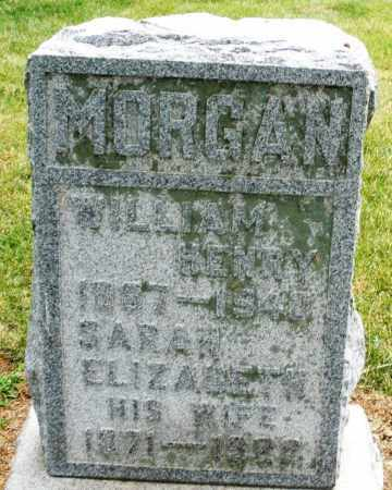 MORGAN, SARAH ELIZABETH - Madison County, Ohio | SARAH ELIZABETH MORGAN - Ohio Gravestone Photos