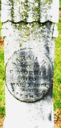 MORRIS, SARAH H. - Madison County, Ohio | SARAH H. MORRIS - Ohio Gravestone Photos