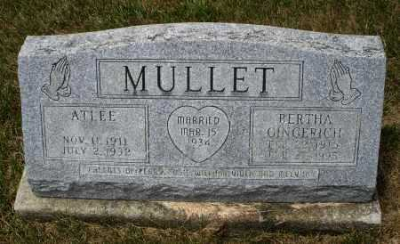 MULLET, BERTHA - Madison County, Ohio | BERTHA MULLET - Ohio Gravestone Photos