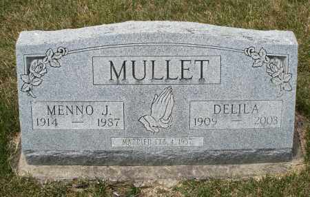 MULLET, DELILA - Madison County, Ohio | DELILA MULLET - Ohio Gravestone Photos