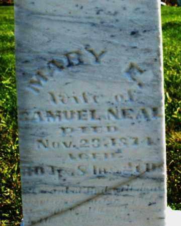 NEAL, MARY E. - Madison County, Ohio | MARY E. NEAL - Ohio Gravestone Photos