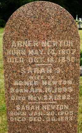 NEWTON, ABNER - Madison County, Ohio | ABNER NEWTON - Ohio Gravestone Photos