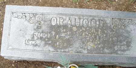 ORAHOOD, FRED A. - Madison County, Ohio   FRED A. ORAHOOD - Ohio Gravestone Photos