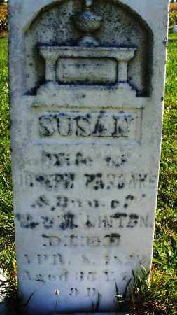 LINTEN PANCAKE, SUSAN - Madison County, Ohio | SUSAN LINTEN PANCAKE - Ohio Gravestone Photos