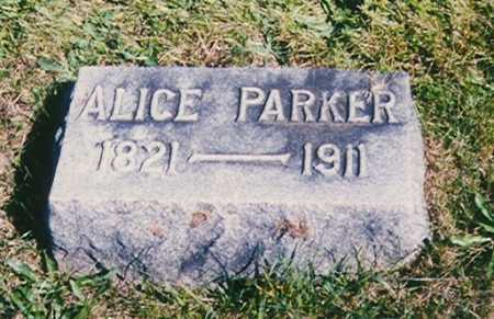 WINCHESTER PARKER, ALICE O. - Madison County, Ohio | ALICE O. WINCHESTER PARKER - Ohio Gravestone Photos