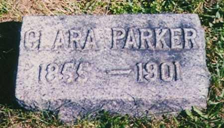 PARKER, CLARA - Madison County, Ohio   CLARA PARKER - Ohio Gravestone Photos