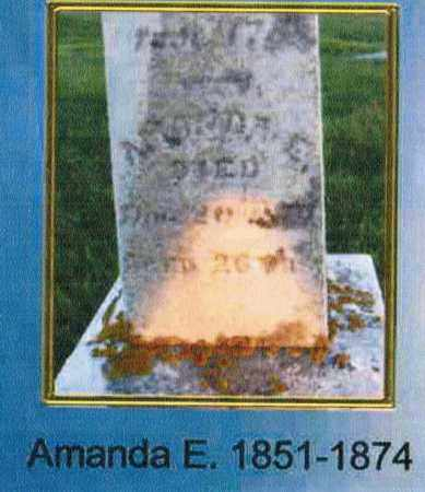 PETERS, AMANDA E. - Madison County, Ohio | AMANDA E. PETERS - Ohio Gravestone Photos