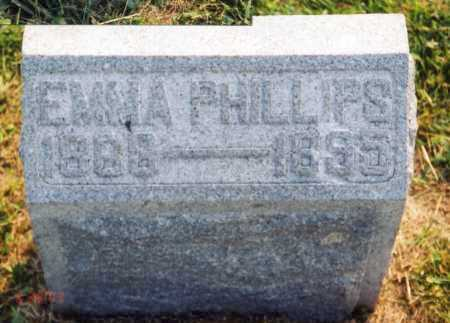 PHILLIPS, EMMA HURTT - Madison County, Ohio | EMMA HURTT PHILLIPS - Ohio Gravestone Photos