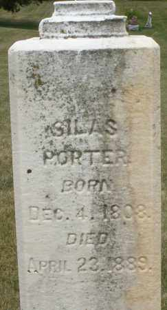 PORTOR, SILAS - Madison County, Ohio | SILAS PORTOR - Ohio Gravestone Photos
