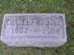 POTEE, CHARLES W. - Madison County, Ohio | CHARLES W. POTEE - Ohio Gravestone Photos